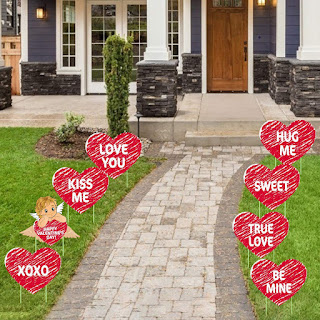 Tifeson Valentine's Day Decorations Outdoor
