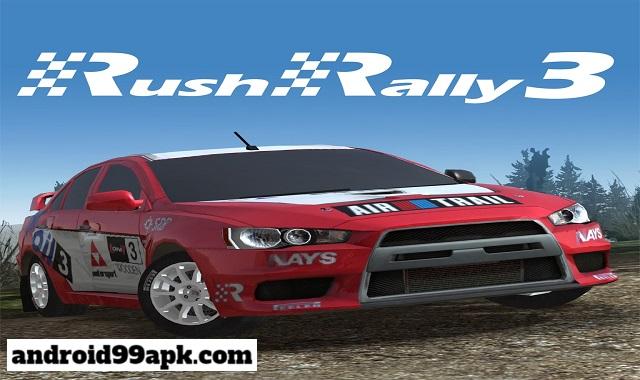 لعبة Rush Rally 3 v1.62 مدفوعة بحجم 92 MB للأندرويد