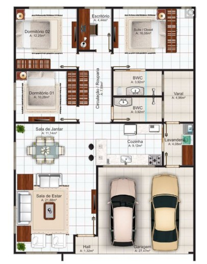 Simple House Designs 3 Bedrooms