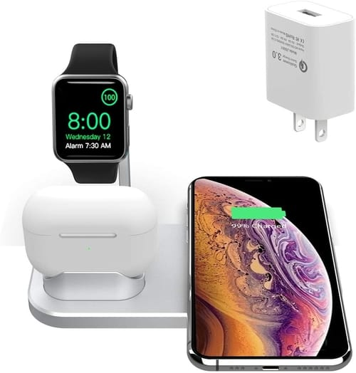 BNCHI S06 AirPods iWatch Wireless Charging Station