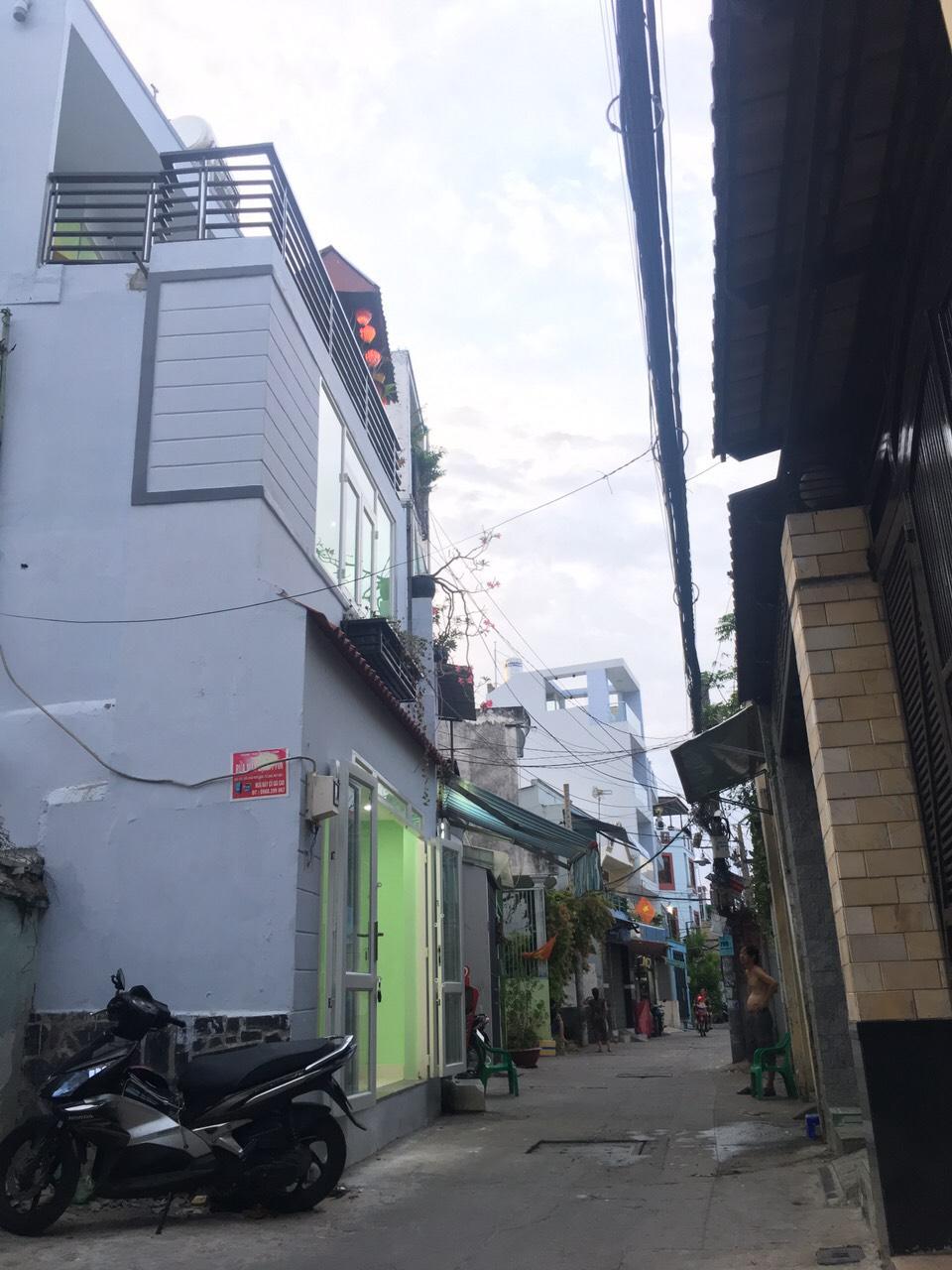 Bán nhà hẻm xe hơi 572 Âu Cơ phường 10 quận Tân Bình. Trệt 2 lầu sân thượng