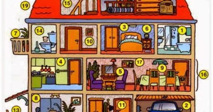 franc s en la upp les pi ces de la maison. Black Bedroom Furniture Sets. Home Design Ideas