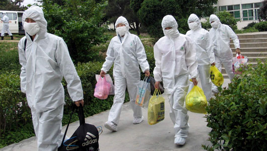 China's SARS outbreak