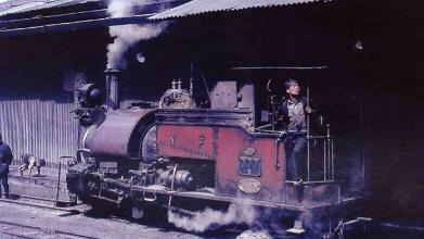 Darjeeling Himalayan Railway Old Image