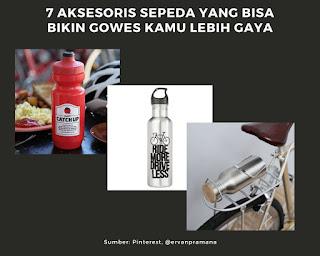 Botol Minum jadi aksesoris wajib kebutuhan pergowesan lebih gaya