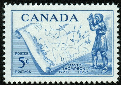Canada David Thompson and Map : Explorer & Geographer