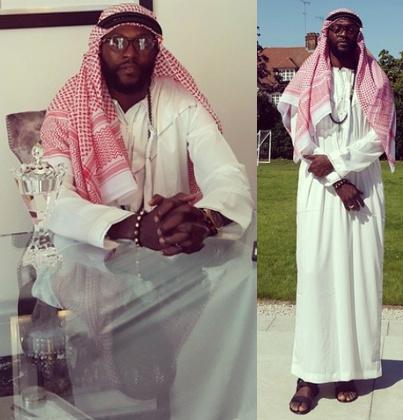 emmanuel adebayor islam