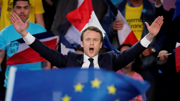 France Election: 39 Years Old Emmanuel Macron Wins France Presidential Election