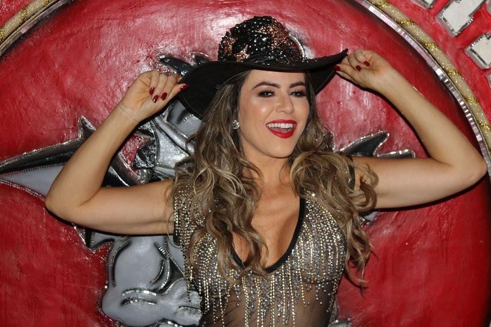 Tânia Oliveira, Madrinha da Dragões da Real. Foto: Renato Cipriano/RZ Assessoria