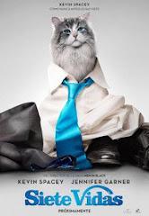Siete vidas, este gato es un peligro (2016)