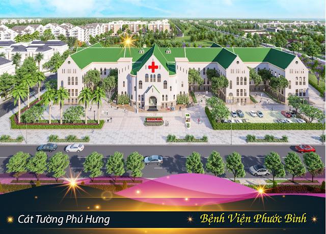 Bệnh viện Phước Bình tại dự án đất nền Cát Tường Phú Hưng