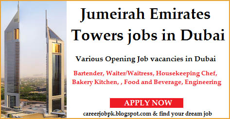Jumeirah Emirates Towers jobs in Dubai