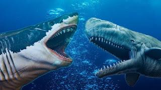 La lucha titánica entre Megalodón y Livyatan melvillei