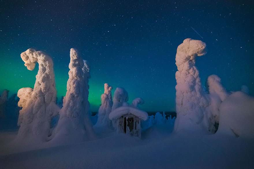 These Are The 35 Best Pictures Of 2016 National Geographic Traveler Photo Contest - Mystic Shed, Finland