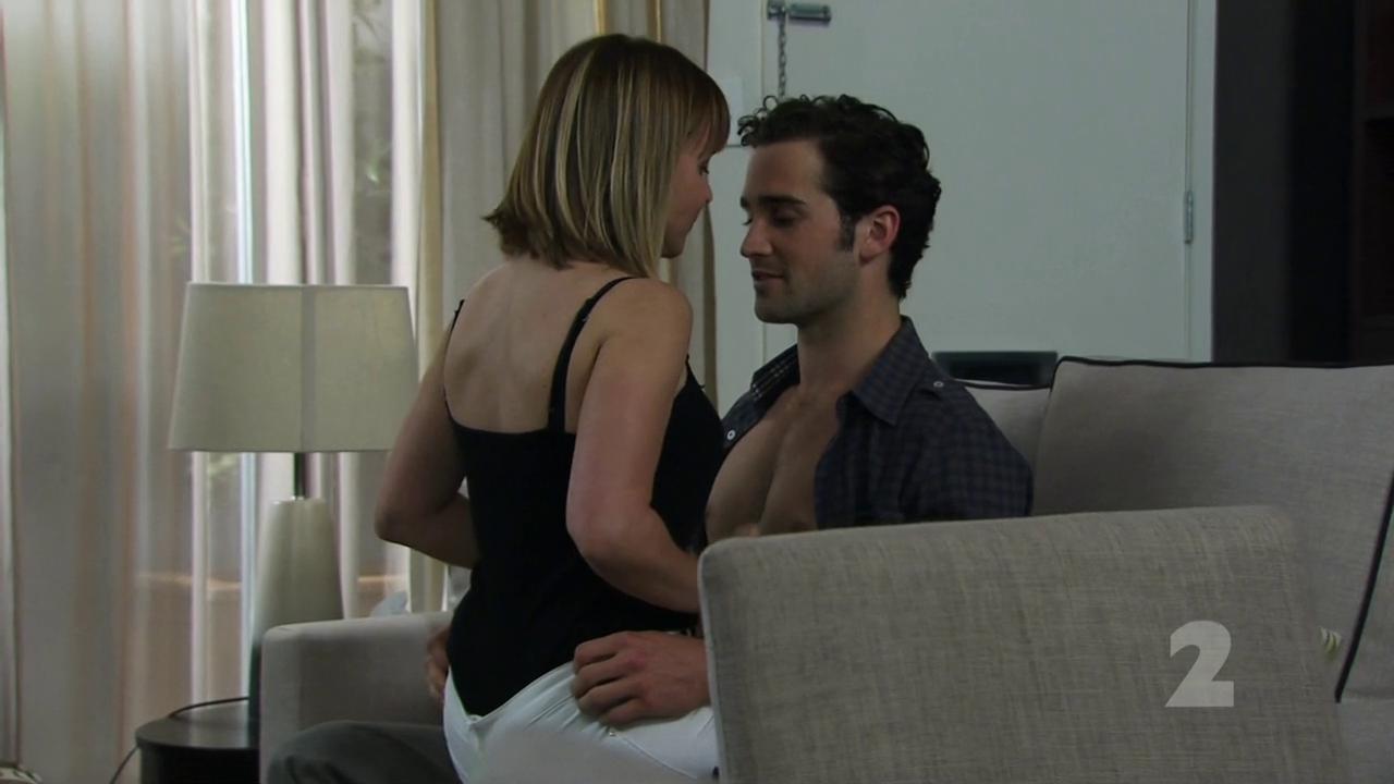 Aaron Mccusker Straight, Shirtless Scene in Marcella