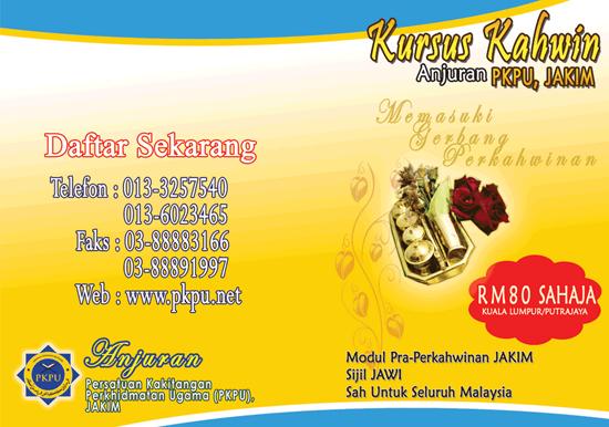 Kursus Perkahwinan JAKIM 2015