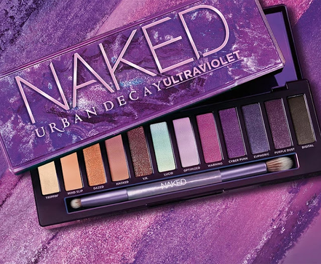 NEW - Urban Decay Naked Ultraviolet Eyeshadow Palette