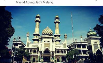 masjid agung malang