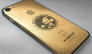 Donald Trump's Gold Plated iPhone  - Checkout Price and Design