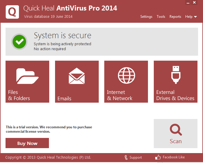 quick heal antivirus pro 2014