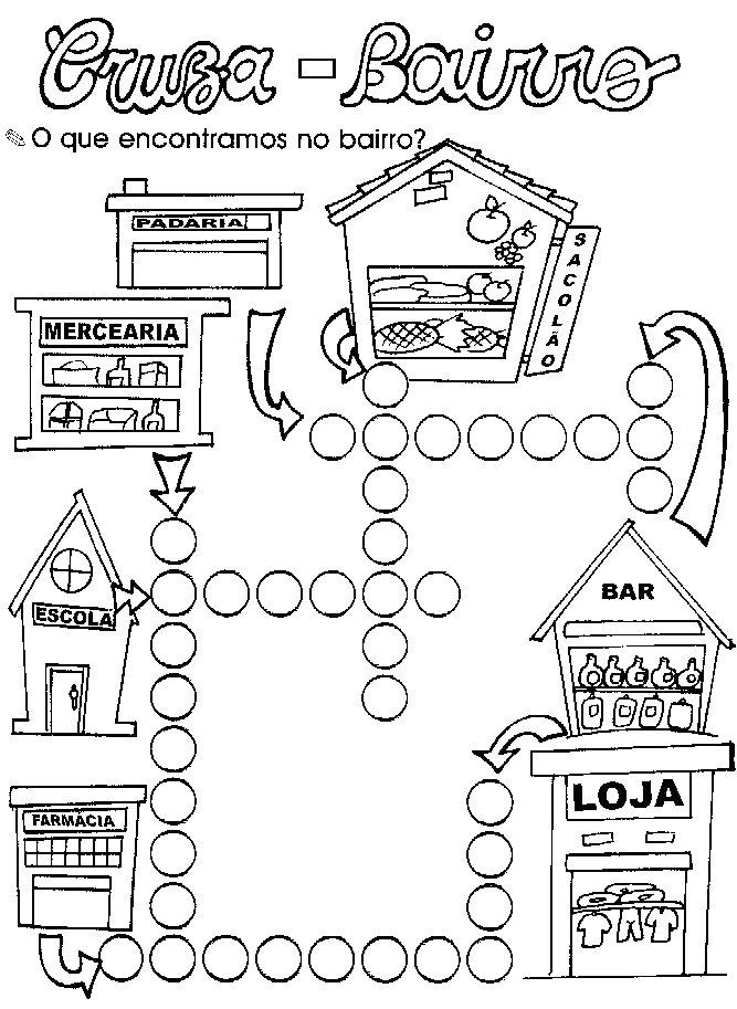 Colorir Desenhos De Alfabetizacao Atividades Pedagogicas
