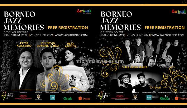 Virtual Borneo Jazz 2021