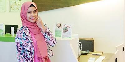 Anisa Rahma, mantan personil Cherrybelle mantap menggunakan hijab
