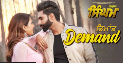 Demand Song Lyrics | Singham | parmish verma new song 2019