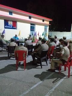 संवाददाता, Journalist Anil Prabhakar.                                                                                               www.upviral24.in   थाना कोतवाली उरई में  पाक्सो एक्ट/महिला उत्पीडन सम्बन्धी विवेचनाओं का शीघ्र निस्तारण करने के दिये निर्देश -अपर पुलिस अधीक्षक जालौन