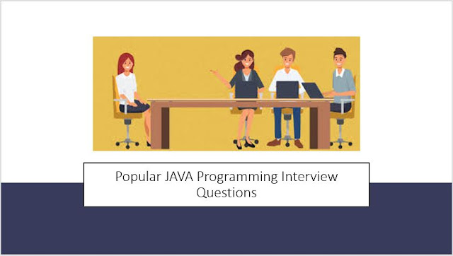 Popular JAVA Programming Interview Questions