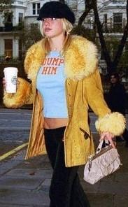 Britney Spears DUMP HIM T shirt.  PYGear.com