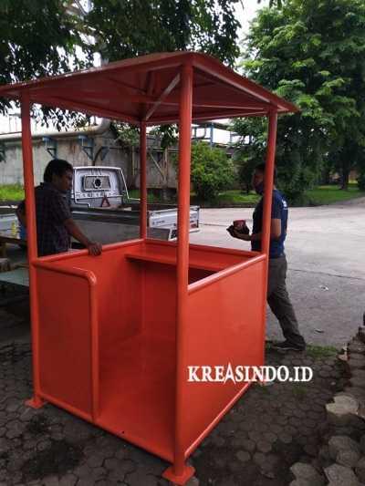 Butuh Pos Jaga yang Nyaman? Kreasindo Mempersembahkan Jasa Pos Satpam Besi Surabaya Terbaik