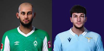 PES 2021 Faces Ömer Toprak & Danilo Cataldi by SR