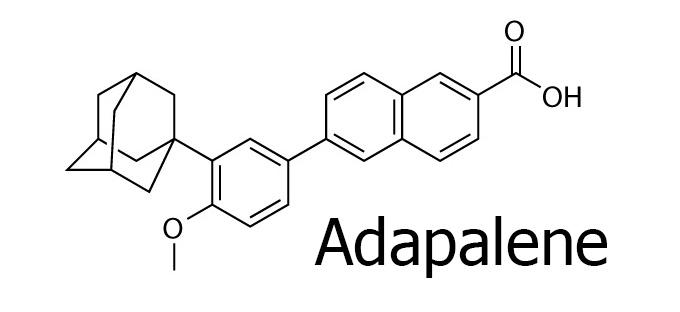 Adapalene là một Vitamin A gốc acid thế hệ 3 và thuộc nhóm Retinoids.