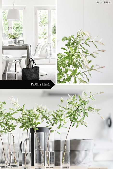Tischdekoration - Planty-Table-Setting