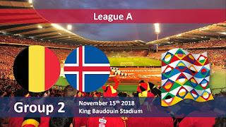 مشاهدة مباراة بلجيكا وايسلندا بث مباشر 15-11-2018 دوري الامم الاوروبية