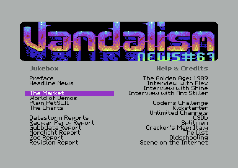 [This article was originally written by J. Monkman for issue #67 of the  world-famous Commodore 64 disk magazine Vandalism News, and has been  reposted here ...