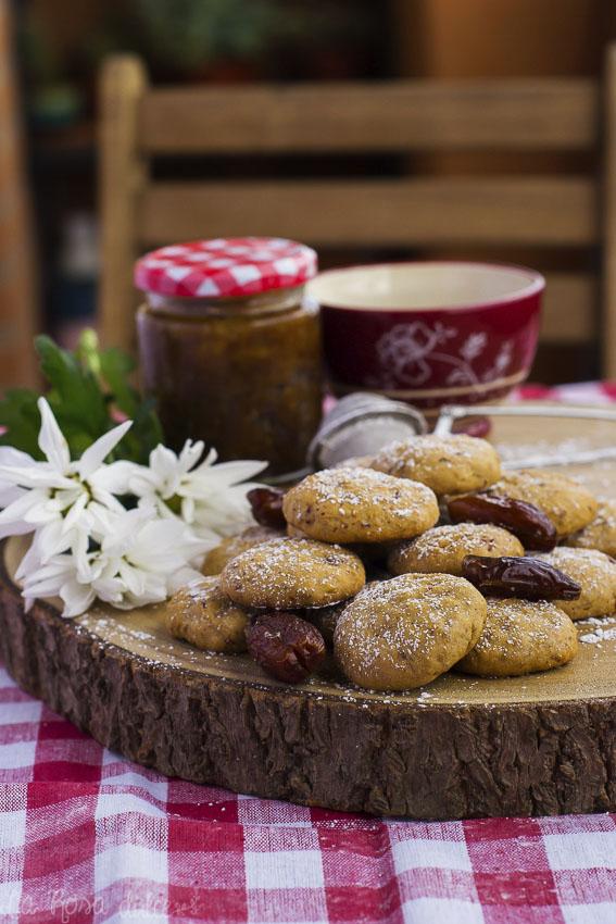 Galletas de dátiles marroquíes #sinlactosa