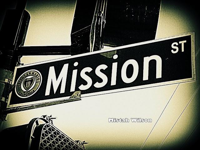 Mission Street, San Marino, California by Mistah Wilson