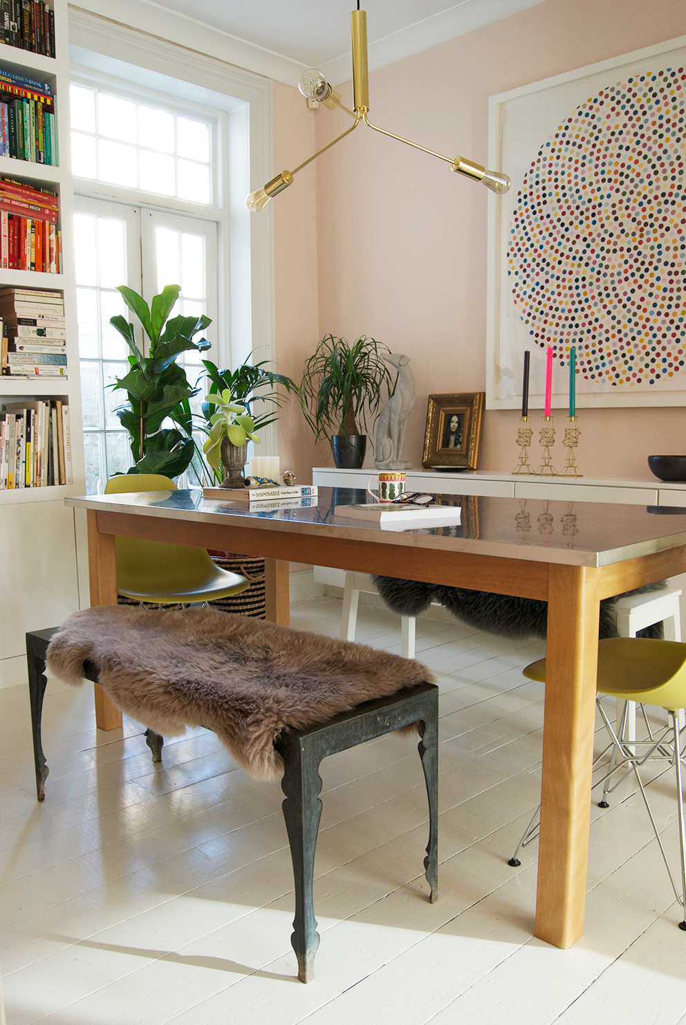 French For Pineapple Blog - Dining Room Bench Seat