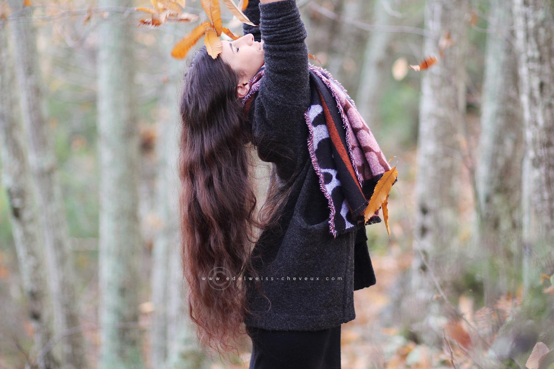 routine automne cheveux longs soins naturels