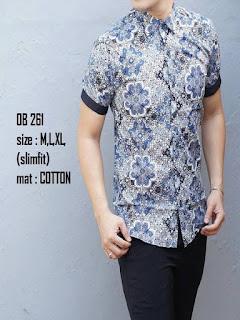 model baju batik pria casual