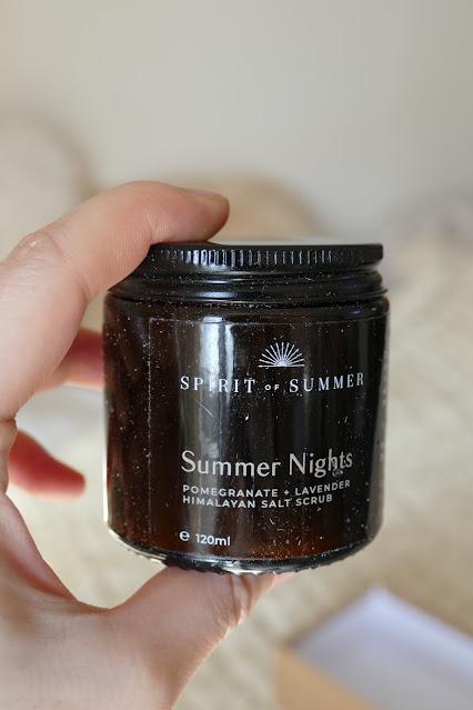 Spirit of Summer Review, Spirit of Summer brand, Spirit of Summer skincare, body scrub natural uk, natural body butter brands uk