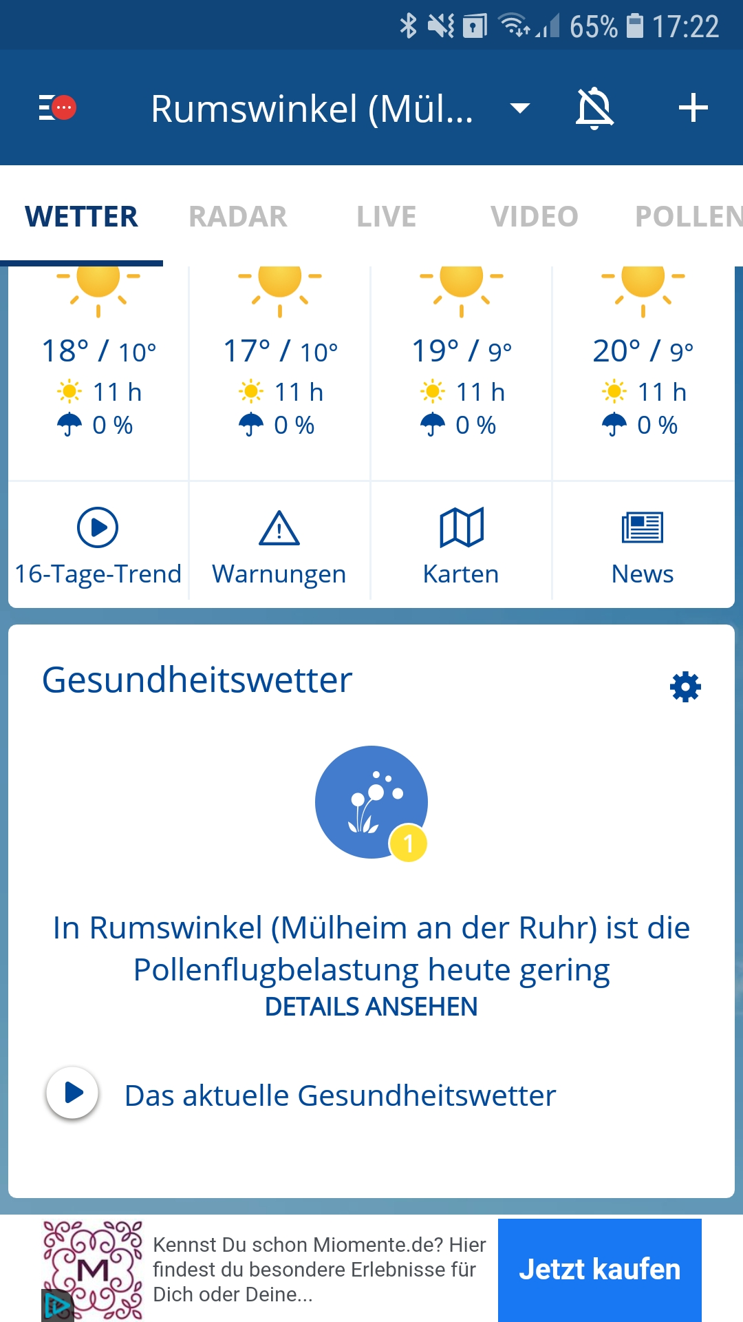 Wetter.Com Mülheim