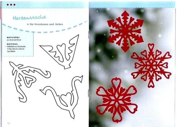Снежинки, сделанные из бумаги, напоминают настоящие снежинки, поэтому нам так...