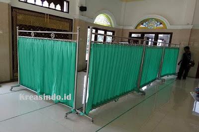 Jasa Hijab Masjid Stainless di Cianjur Jawa Barat