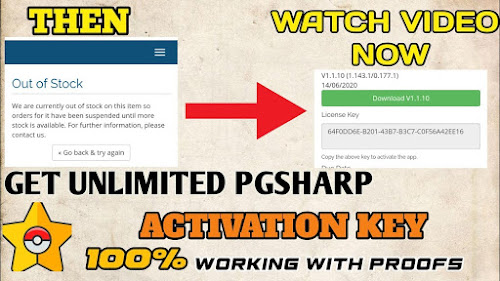 YOU CAN WATCH MY VIDEO HOW TO GET PGSHARP ACTIVATION IN 5 ...