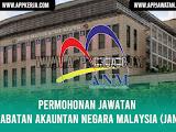 Jawatan Kosong di Jabatan Akauntan negara Malaysia (JANM)