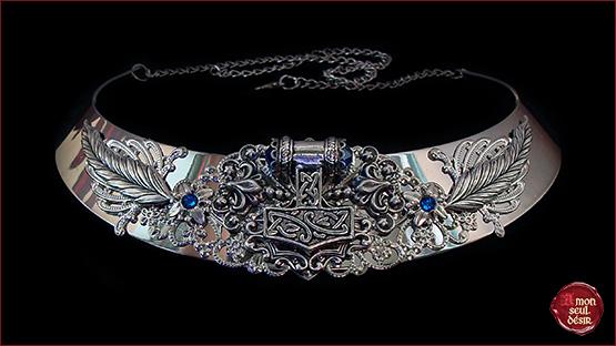 Collier Marteau de Thor Hammer Mjollnir Necklace Viking Style