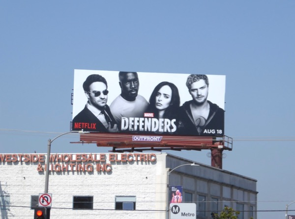 Defenders season 1 billboard